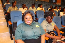 SYMPOSIUM at the Dominica State College with Tourism students Part 1